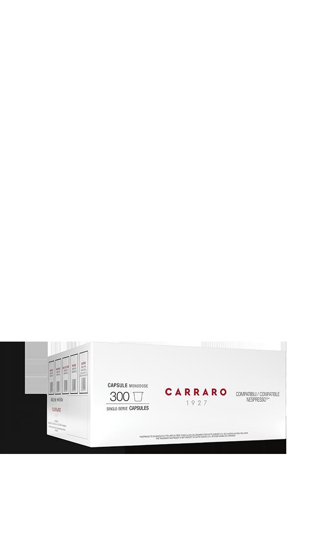 300 capsules: Primo Mattino/Crema Espresso/Puro Arabica/Decaffeinato
