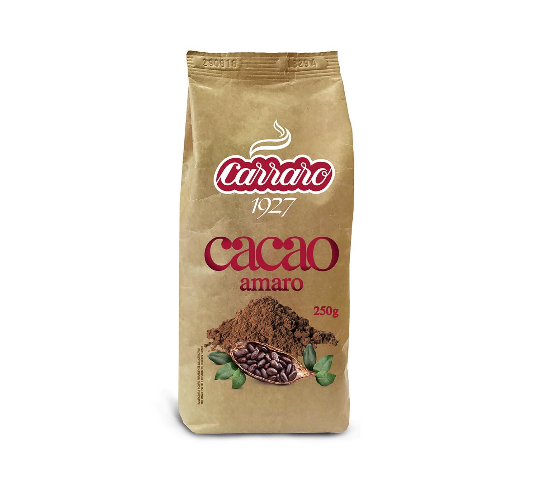 Cacao and Olandesino - Cacao amaro – 250 g - Shop online Caffè Carraro