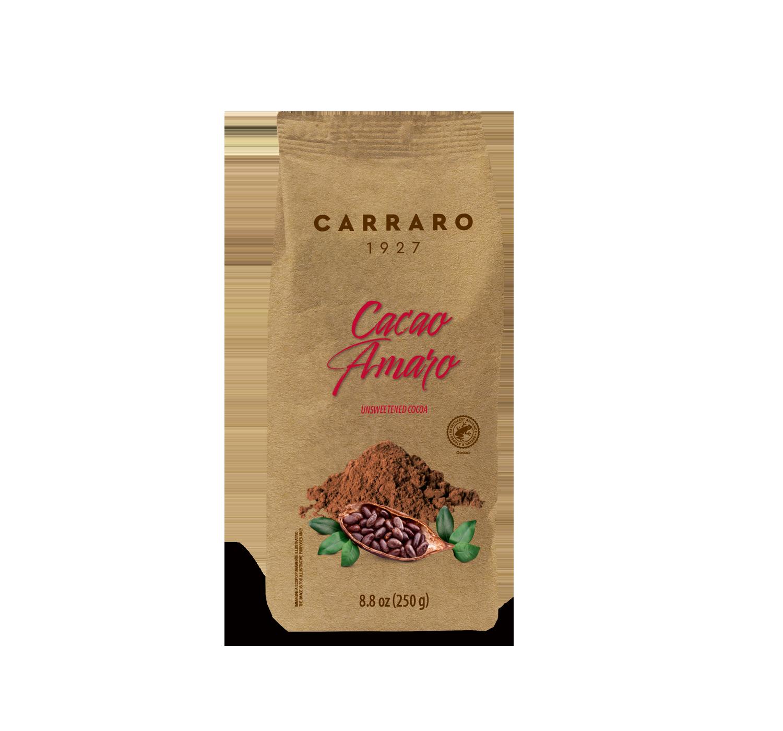 Cacao e Olandesino - Cacao amaro – 250 g - Shop online Caffè Carraro