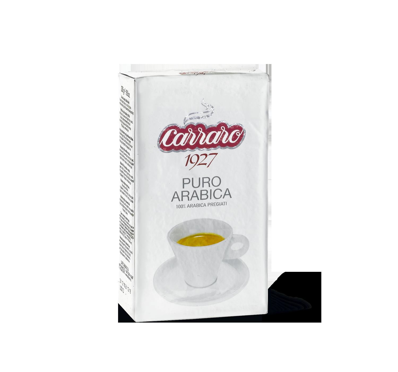 Caffè macinato - Puro Arabica – caffè macinato 250 g - Shop online Caffè Carraro