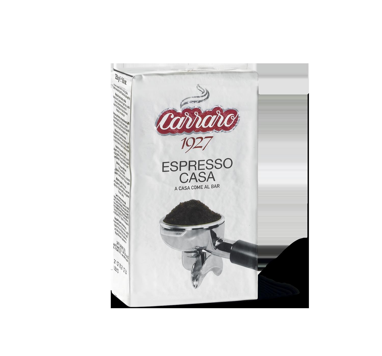 Caffè macinato - Espresso Casa – caffè macinato 250 g - Shop online Caffè Carraro