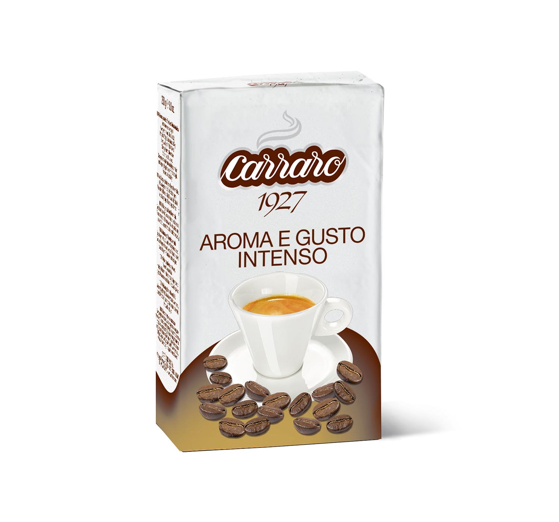 Ground coffee - Aroma e Gusto Intenso – ground coffee 250 g - Shop online Caffè Carraro