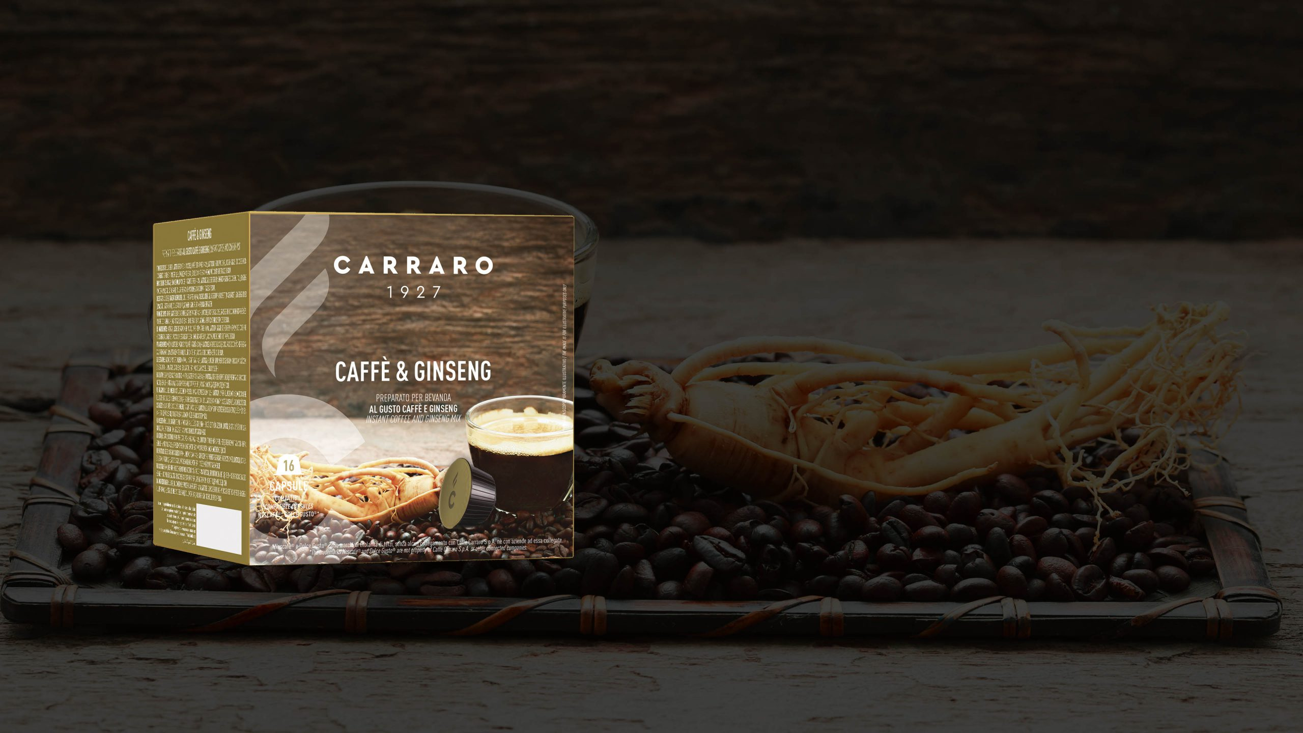 Caffè&Ginseng  – 16 capsule
