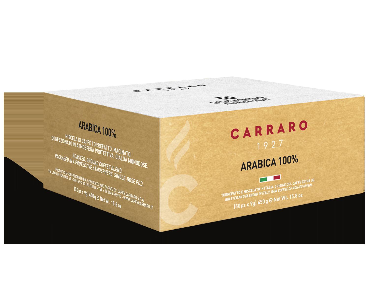 Arabica 100% – 50 pods 9 g