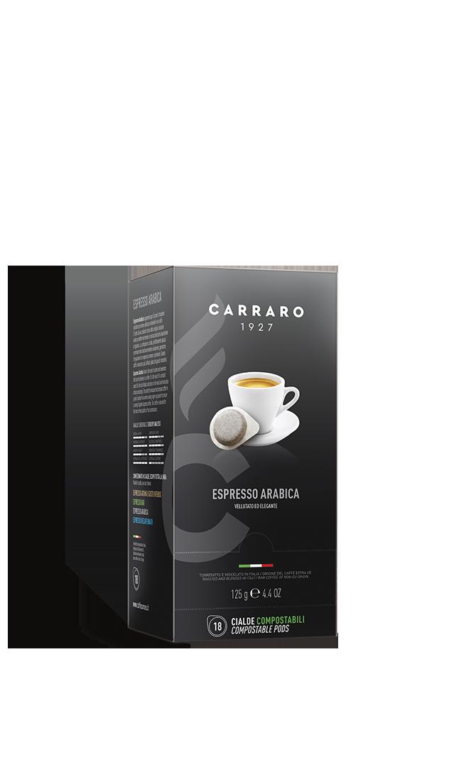Espresso arabica 100% – 18 pods 7 g