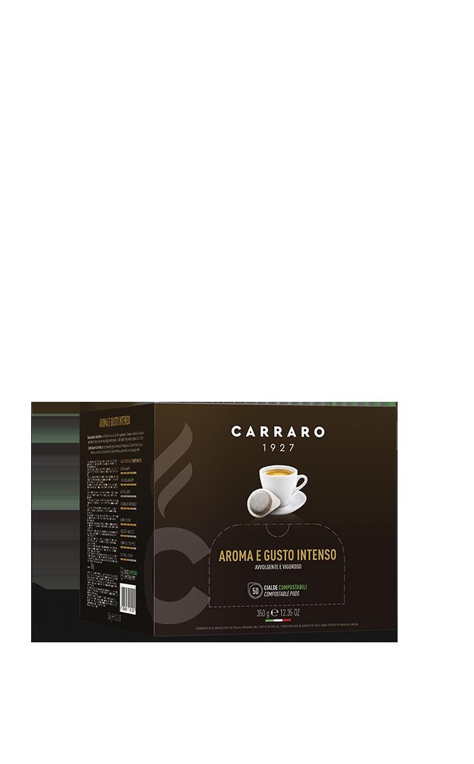 Espresso aromoa e gusto intenso – 50 pods 7 g