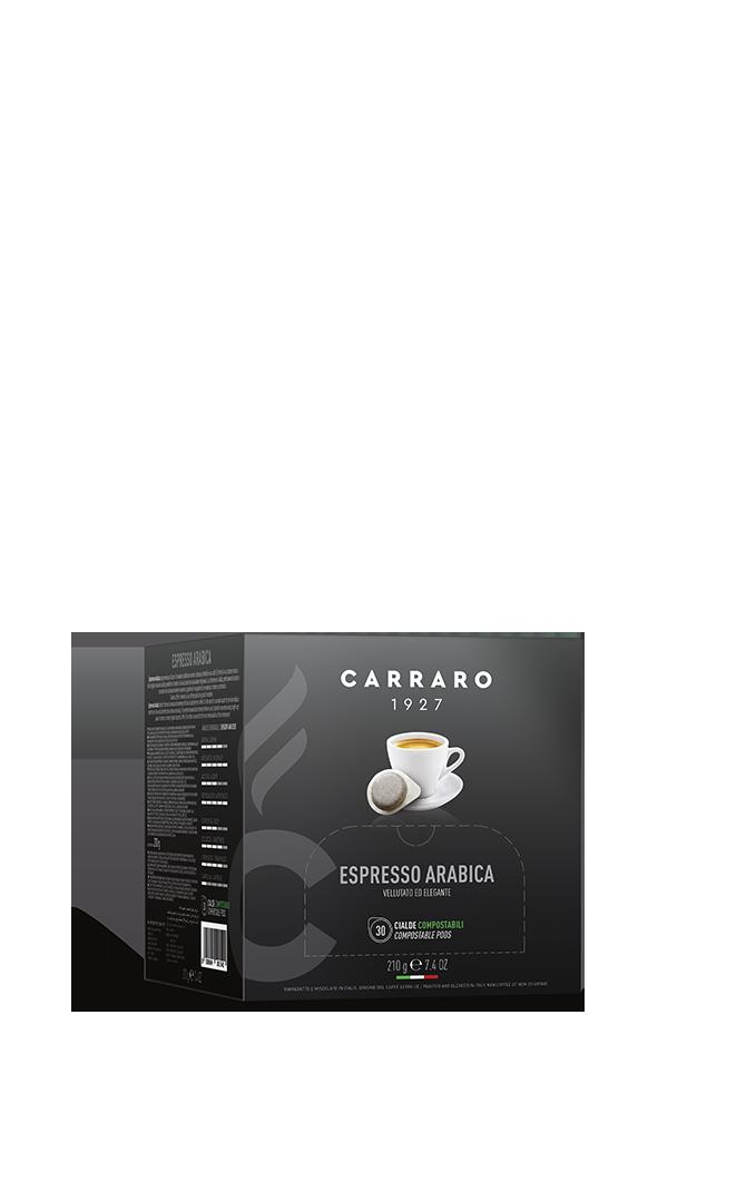 Espresso arabica 100% – 30 cialde da 7 g