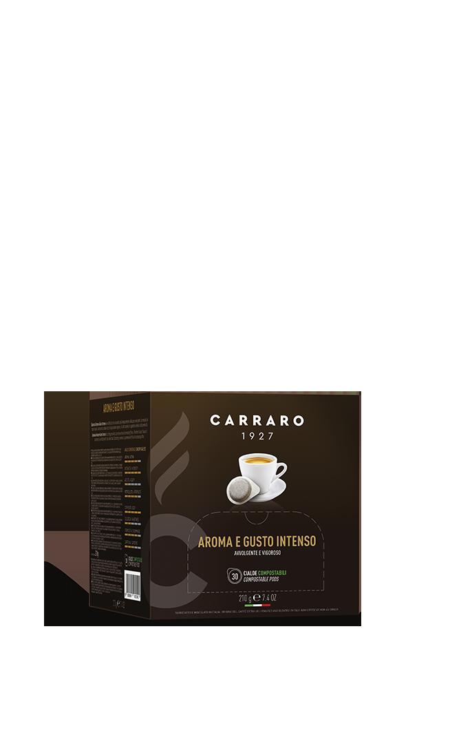 Espresso aromoa e gusto intenso – 30 pods 7 g