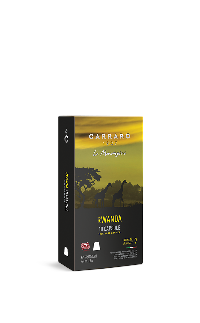 Rwanda – 10 premium capsules