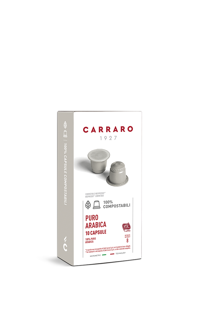 Puro Arabica – 10 compostable capsules