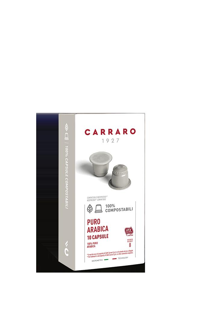 Puro Arabica – 10 capsule compostabili