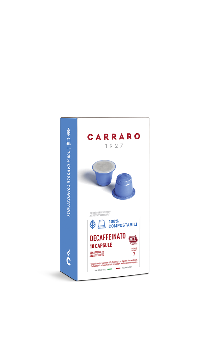 Decaffeinato – 10 compostable capsules
