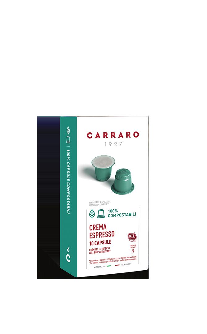 Crema Espresso – 10 capsule compostabili