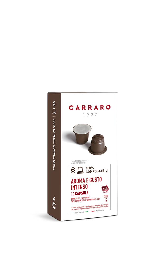 Aroma e Gusto Intenso – 10 capsule compostabili