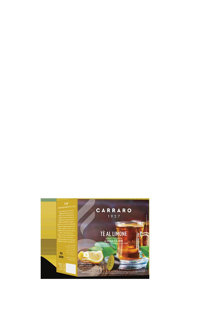 Tè al limone – 16 capsule
