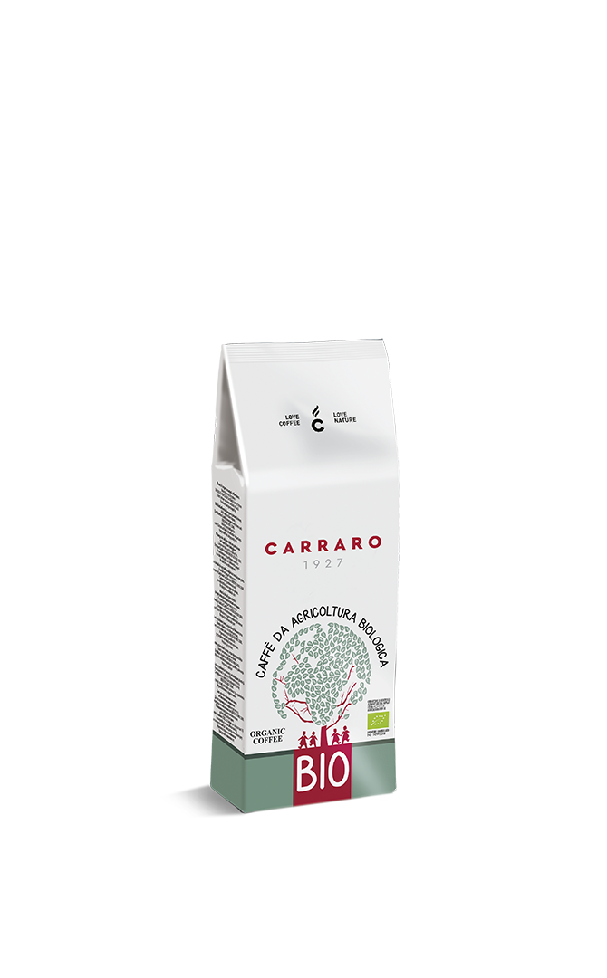 Bio – caffè macinato arabica e robusta 250 g