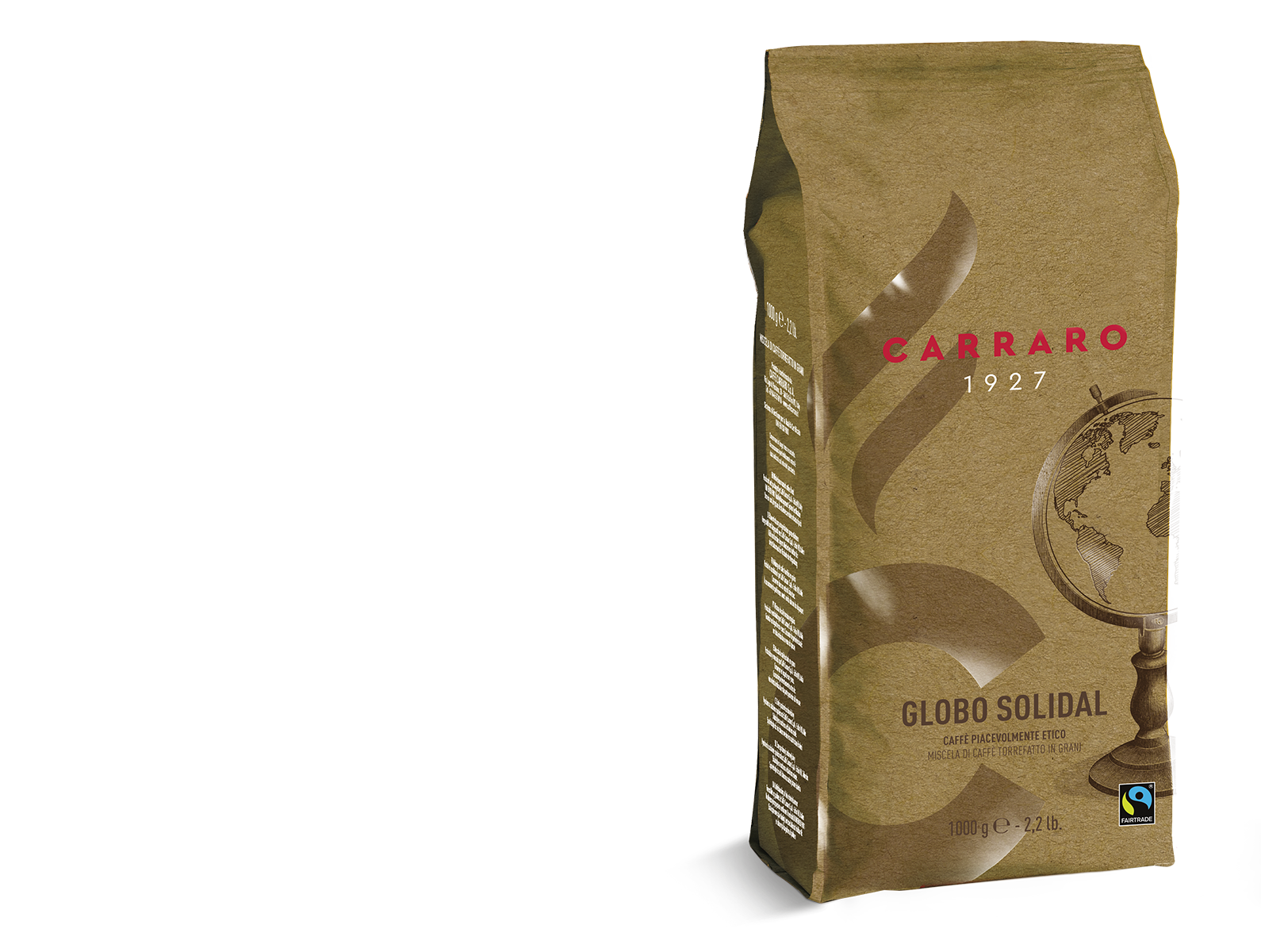 Globo Solidal – coffee beans 1000 g
