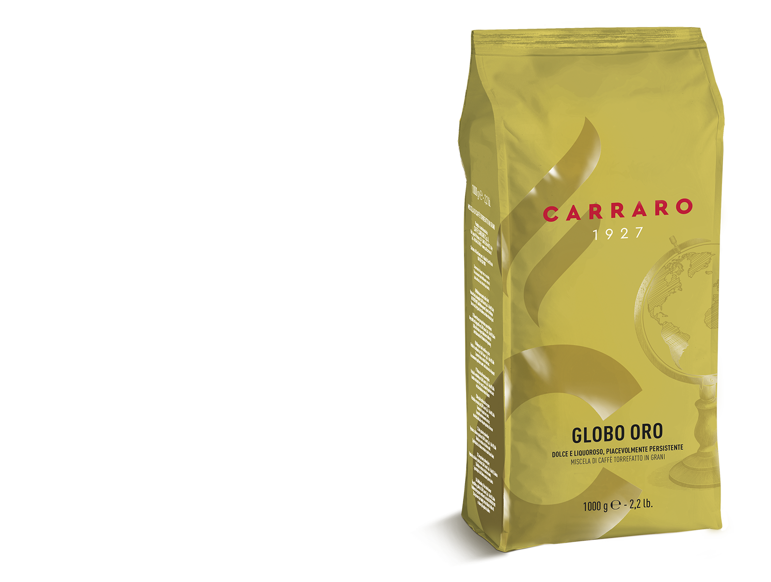 Globo Oro – caffè in grani 1000 g