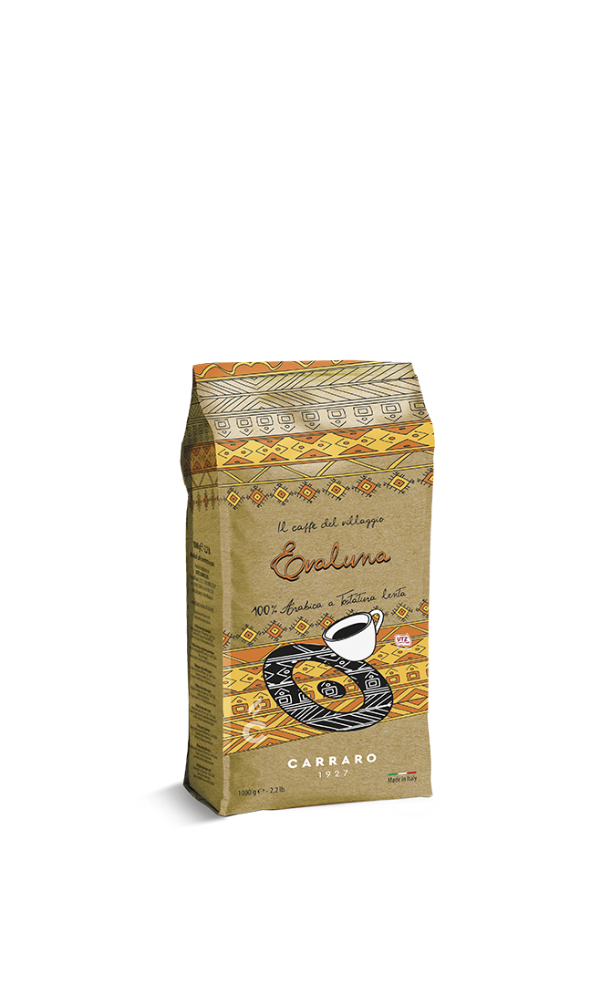 Evaluna – caffè in grani 1000 g Medium