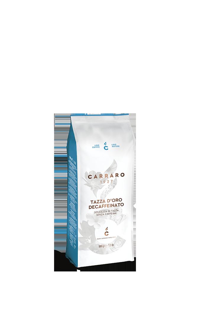 Tazza d'Oro decaffeinato – in grani 500 g