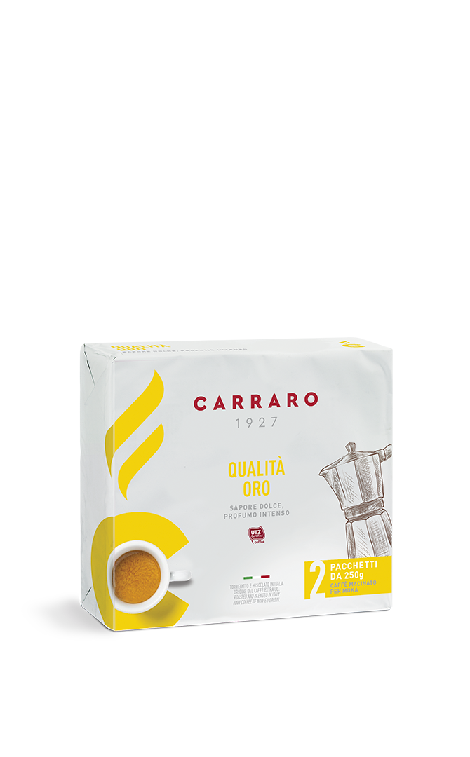 Qualità Oro – ground coffee 2×250 g
