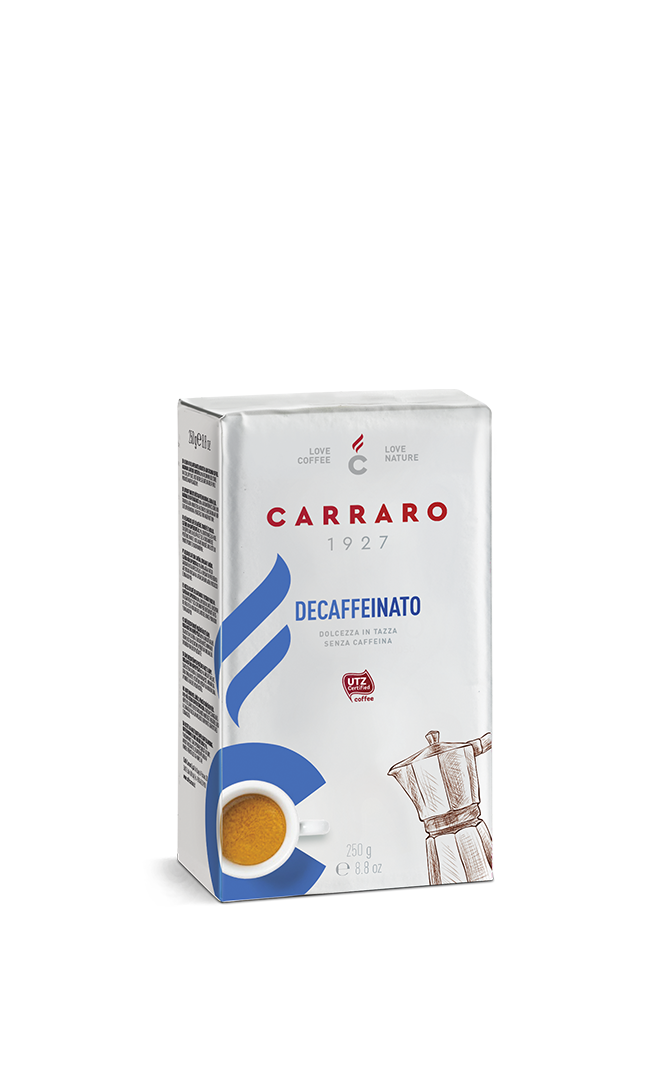 Decaffeinato – ground coffee 250 g