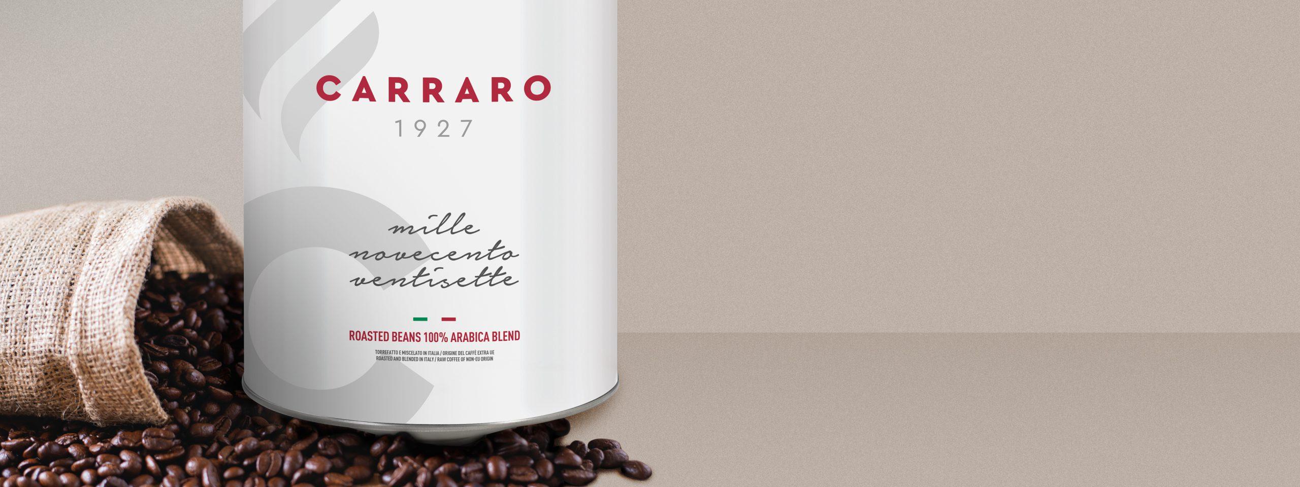 1927 – Caffè in grani in latta da 3 Kg