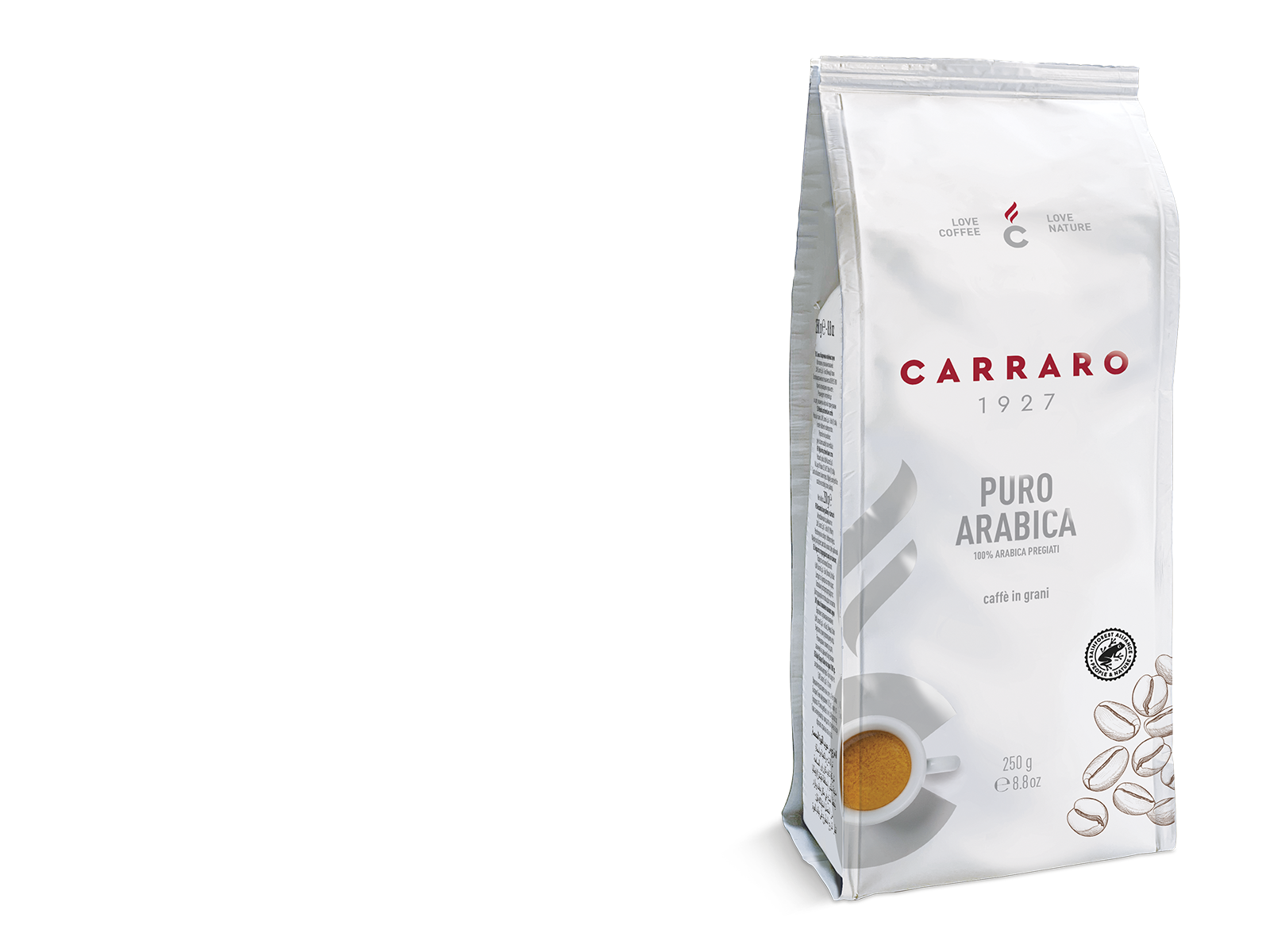 Puro Arabica – coffee beans 250 g