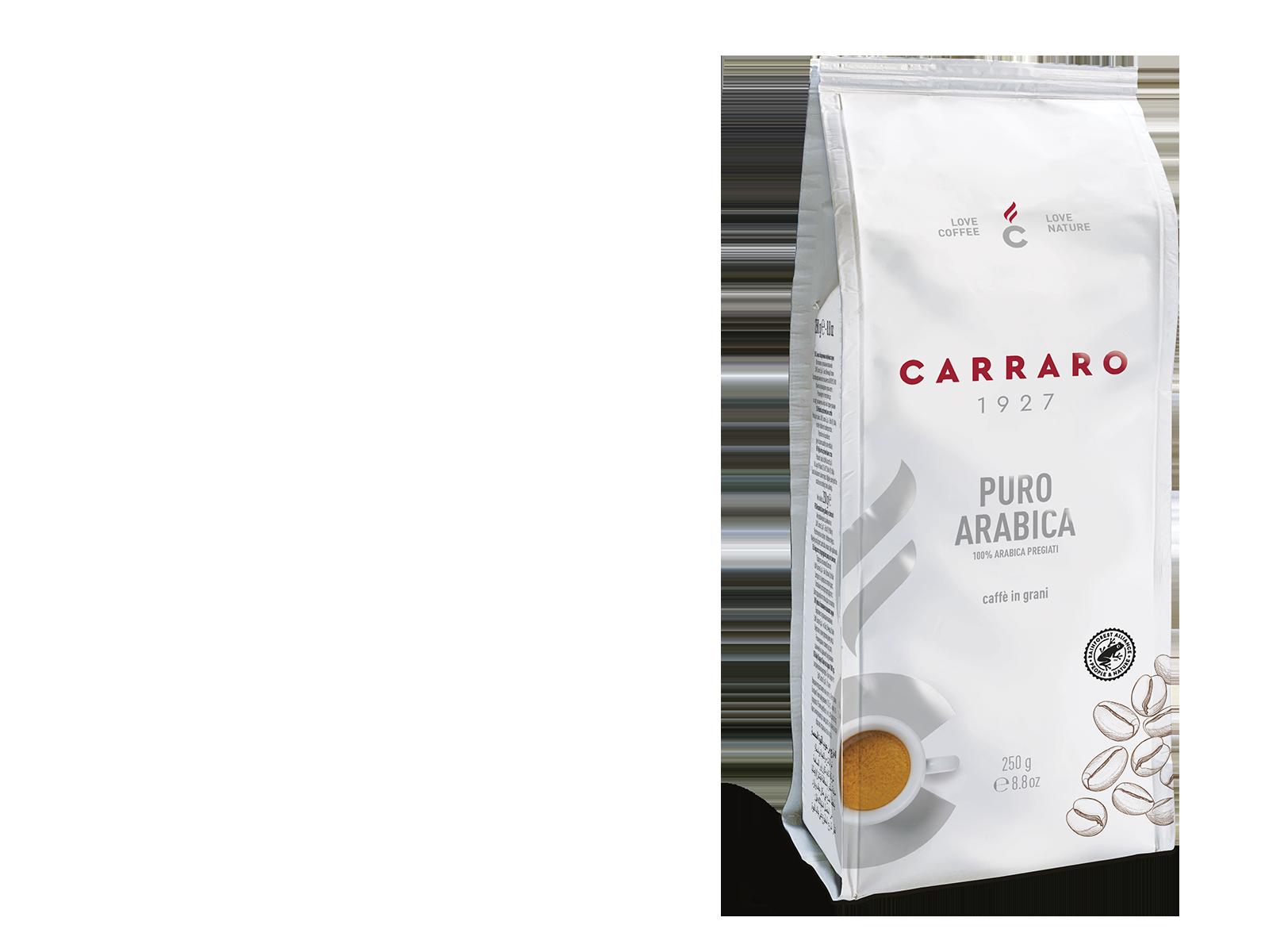 Puro Arabica – caffè in grani 250 g