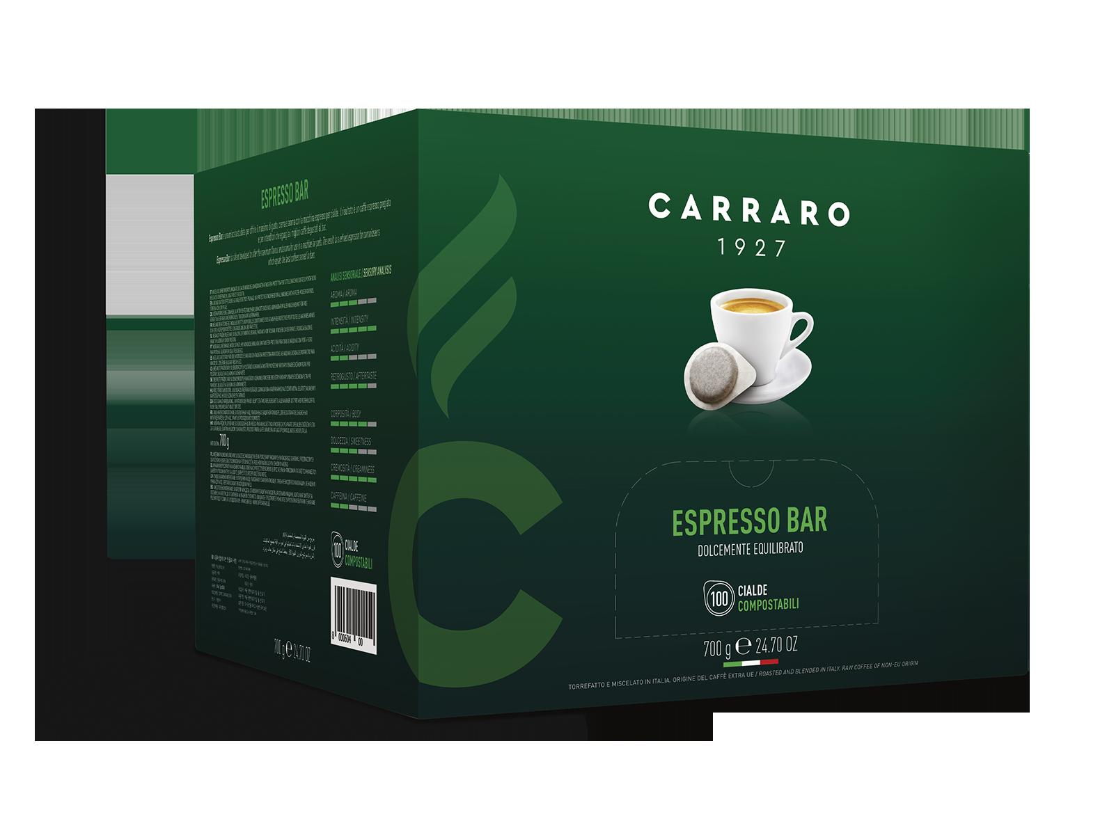 Espresso bar – 100 cialde da 7 g