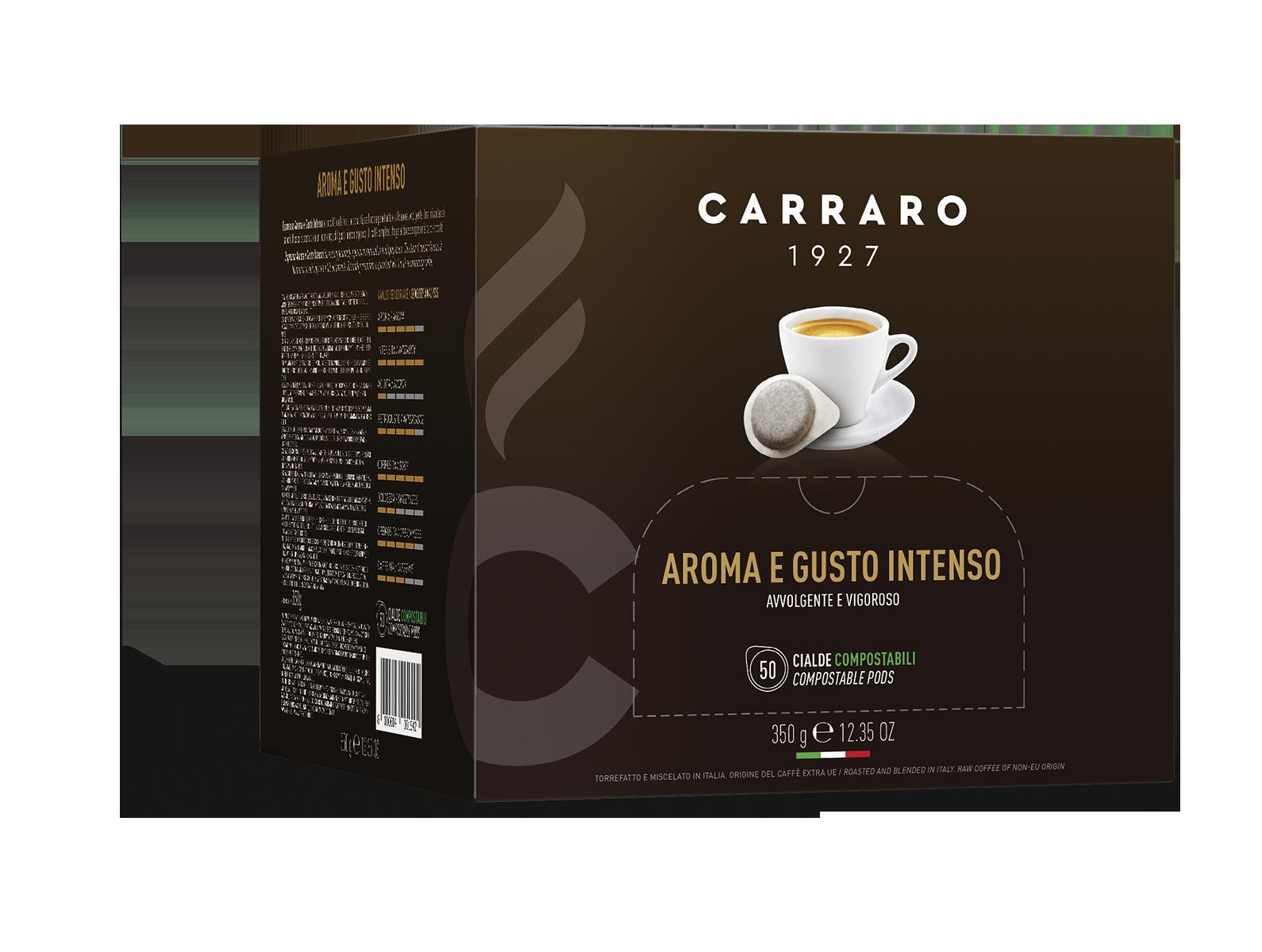 Espresso aroma e gusto intenso – 50 cialde da 7 g