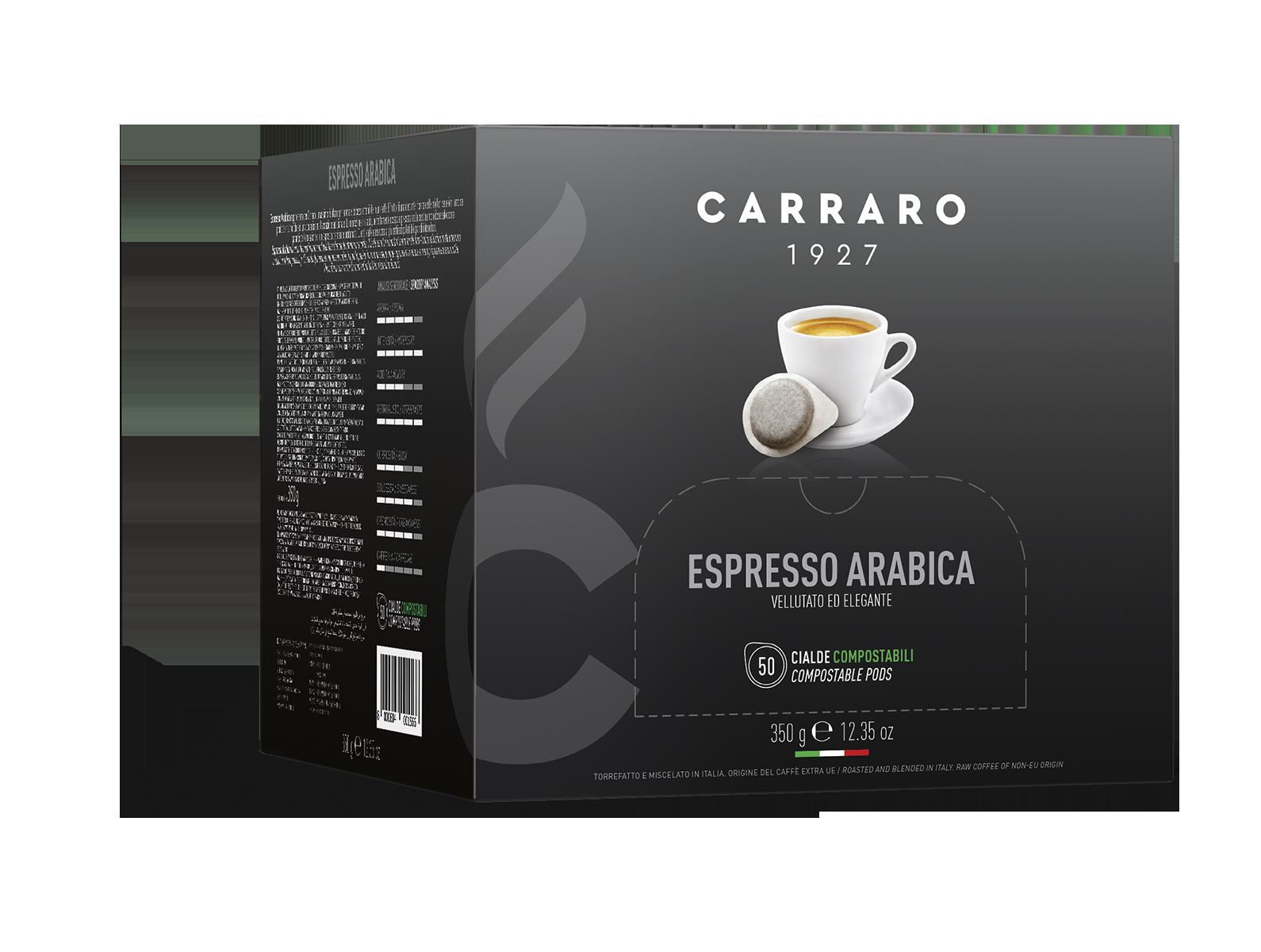 Espresso arabica 100% – 50 cialde da 7 g