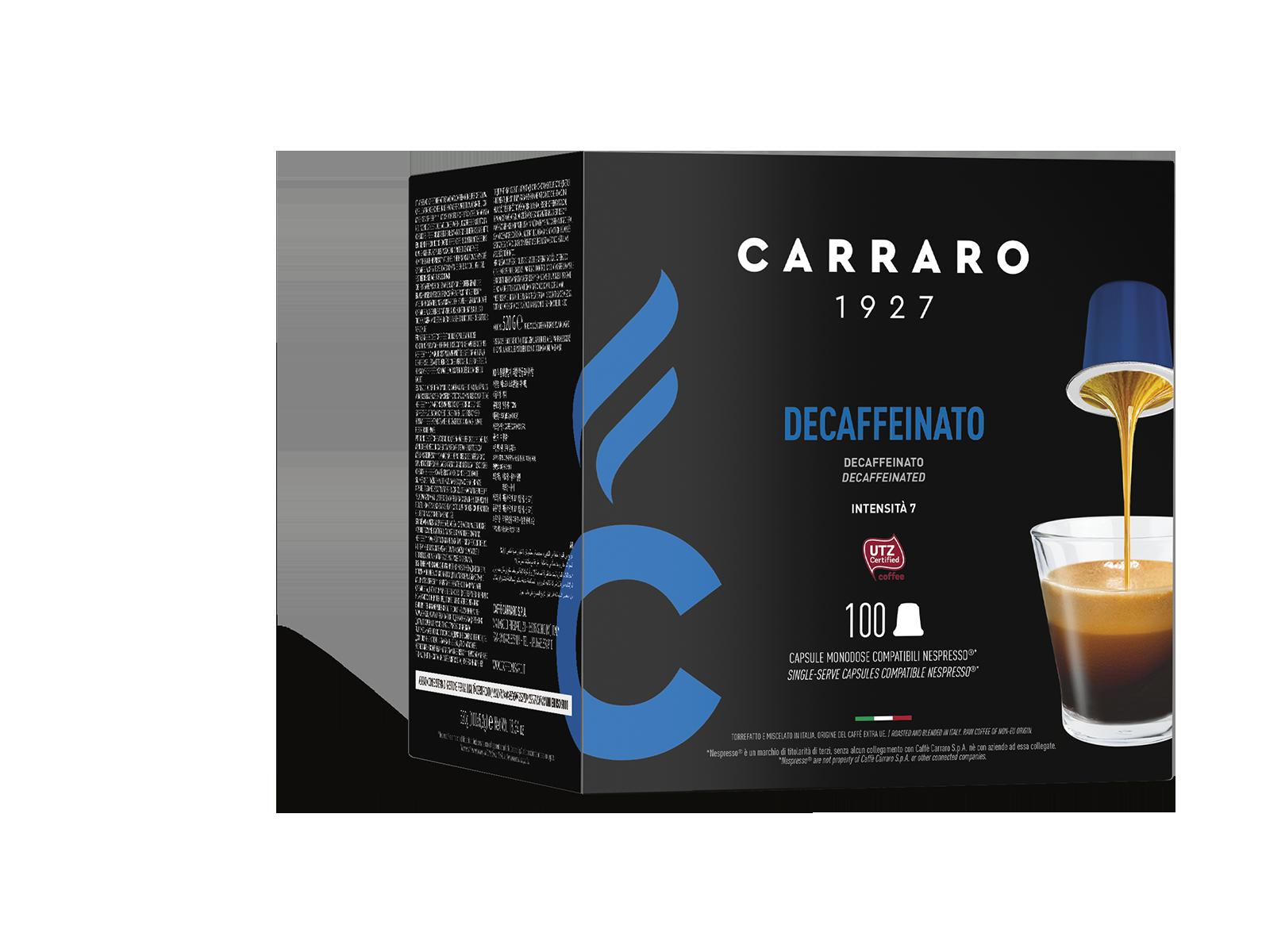 Decaffeinato – 100 capsule