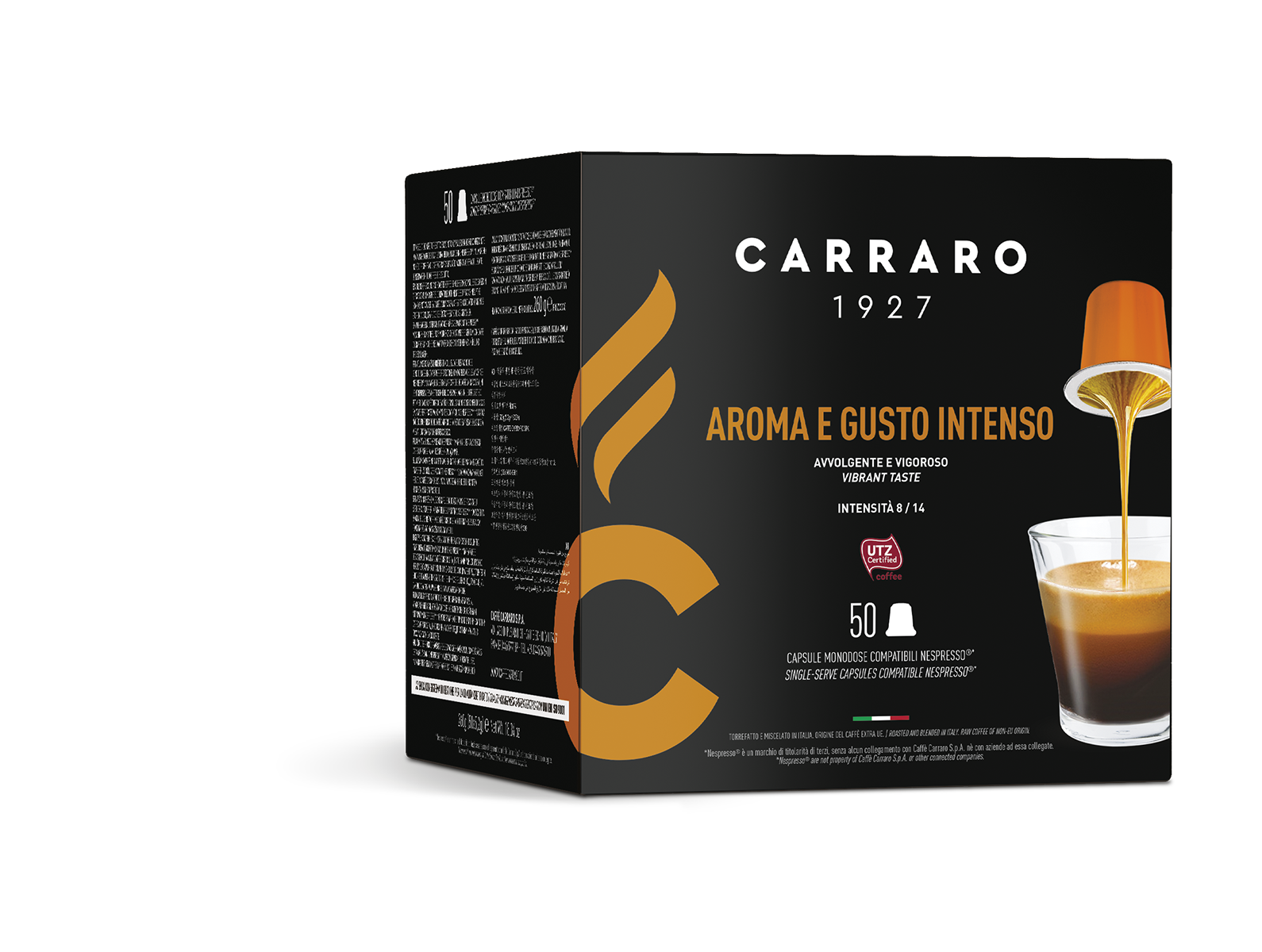 Aroma e Gusto Intenso – 50 capsule