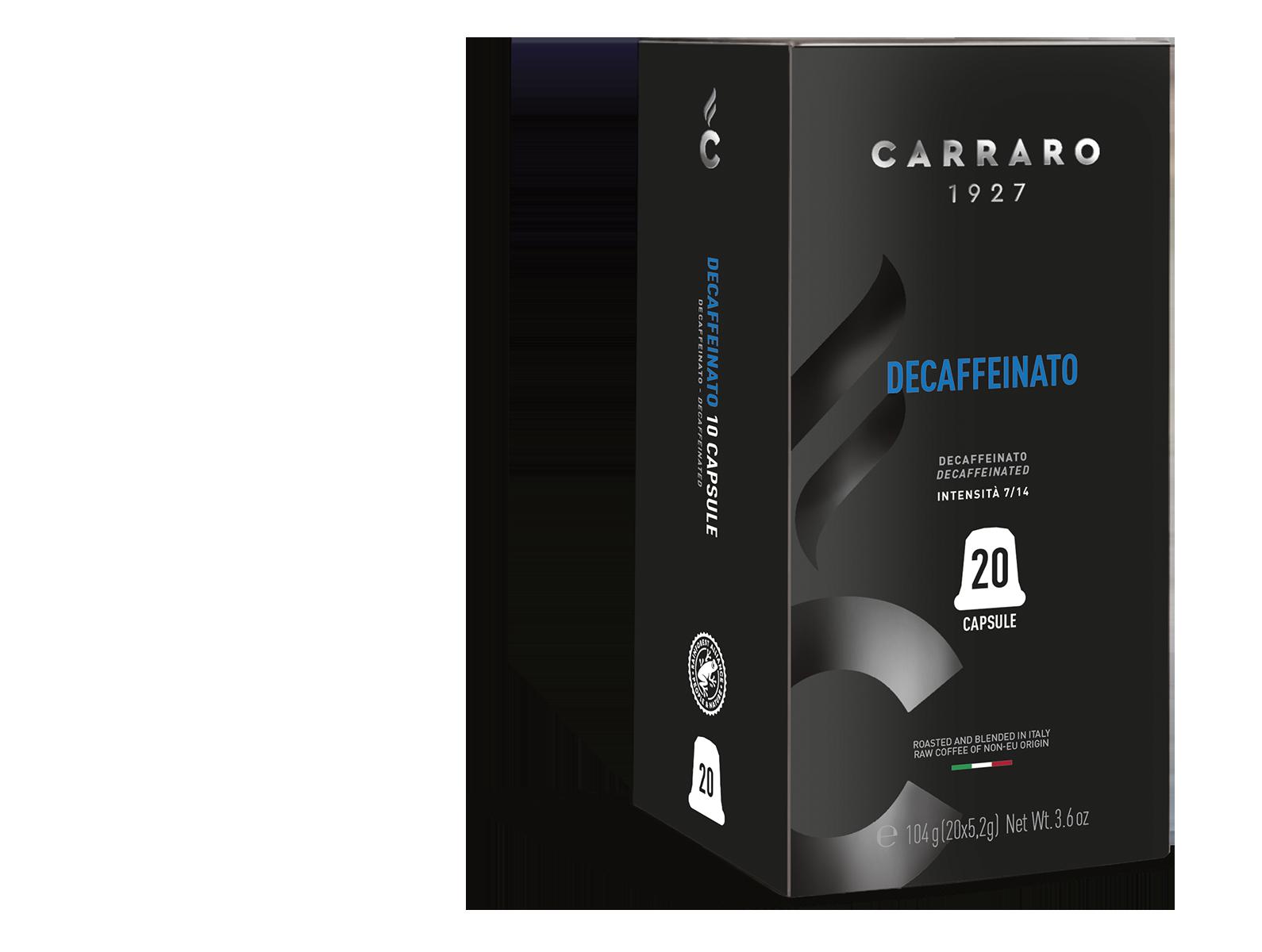 Decaffeinato – 20 capsule premium