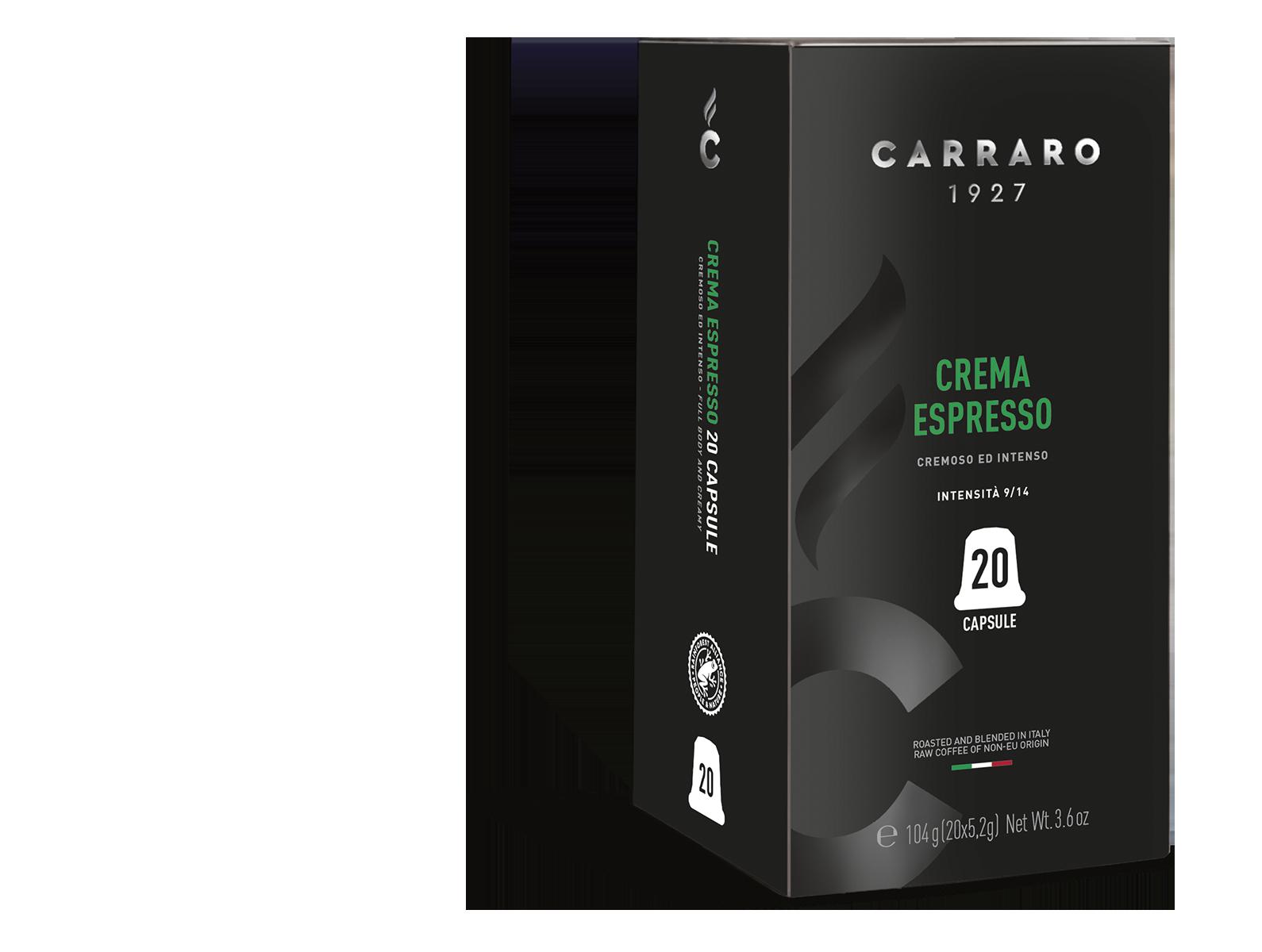Crema Espresso – 20 capsule premium