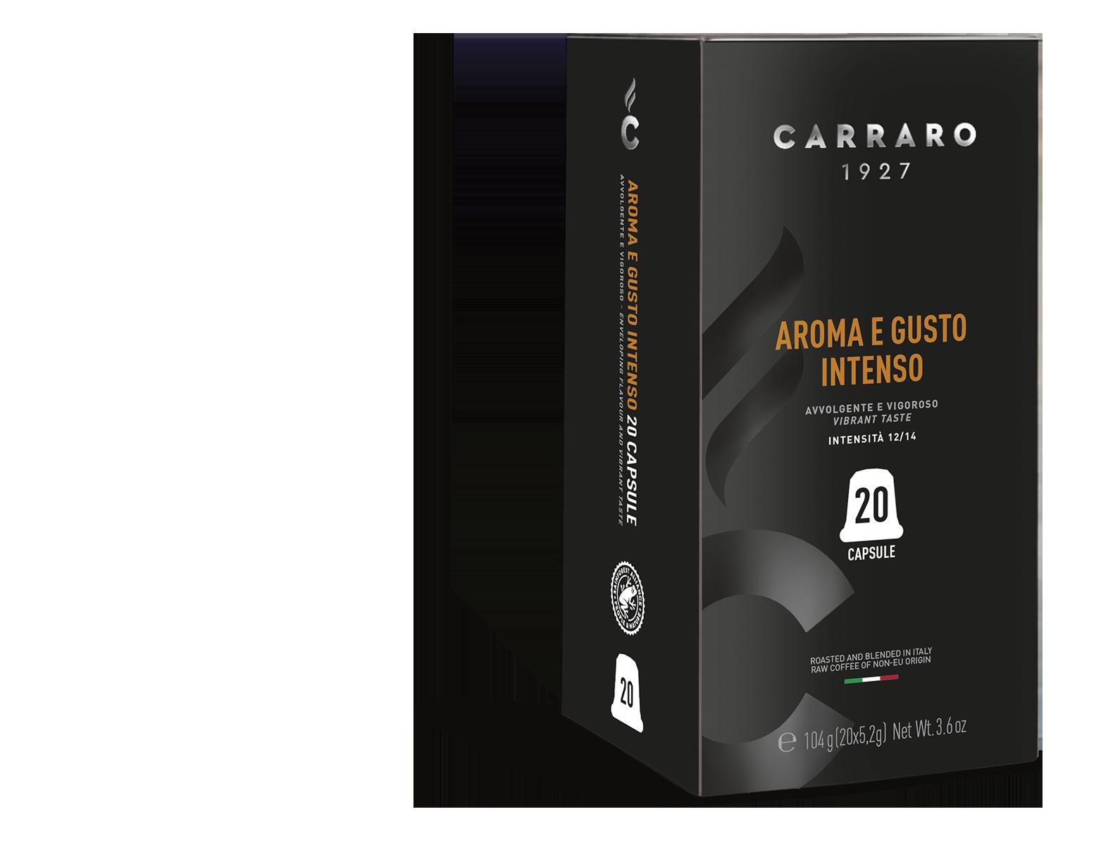 Aroma e Gusto Intenso – 20 capsule premium