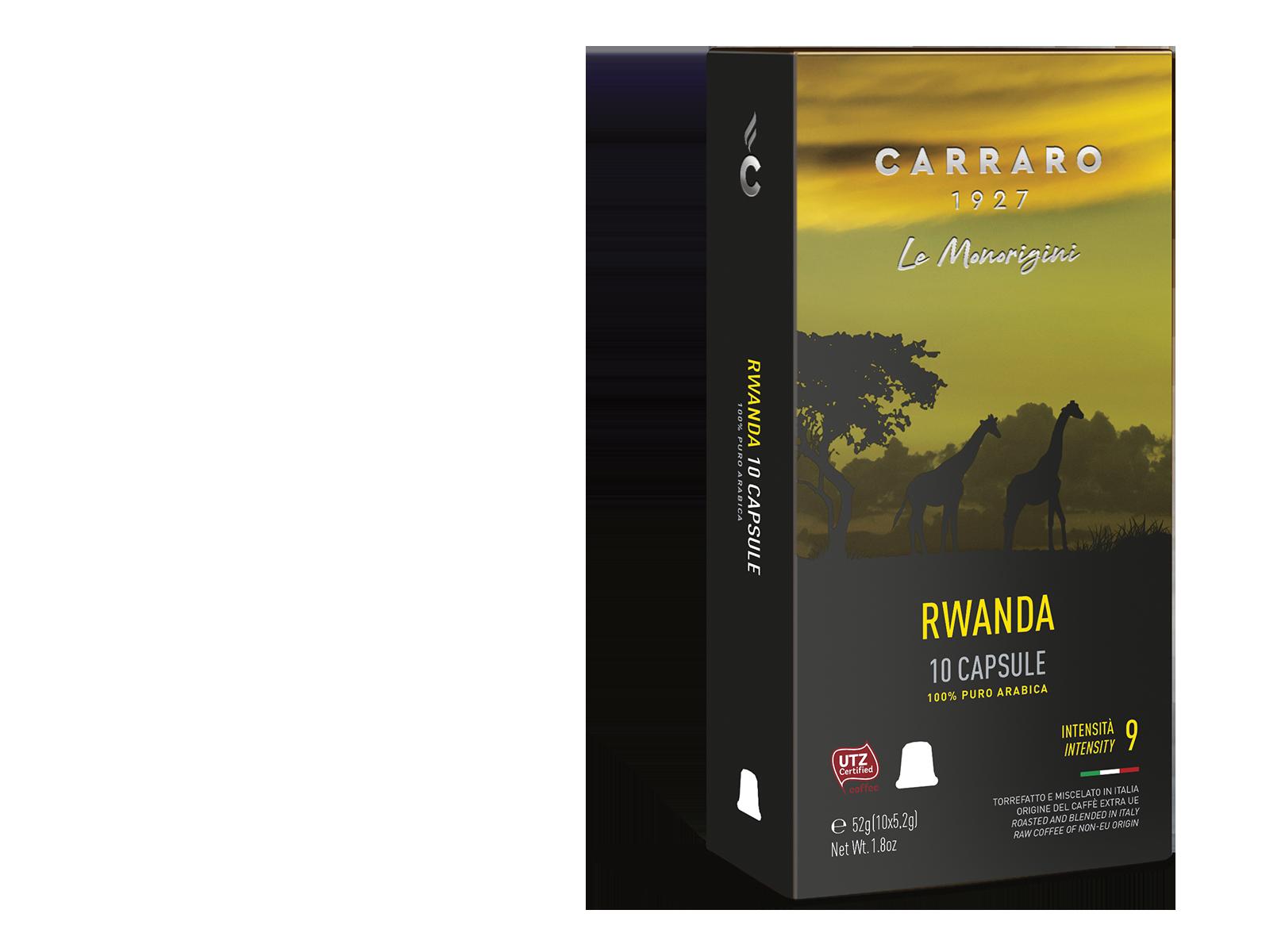 Rwanda – 10 capsule premium