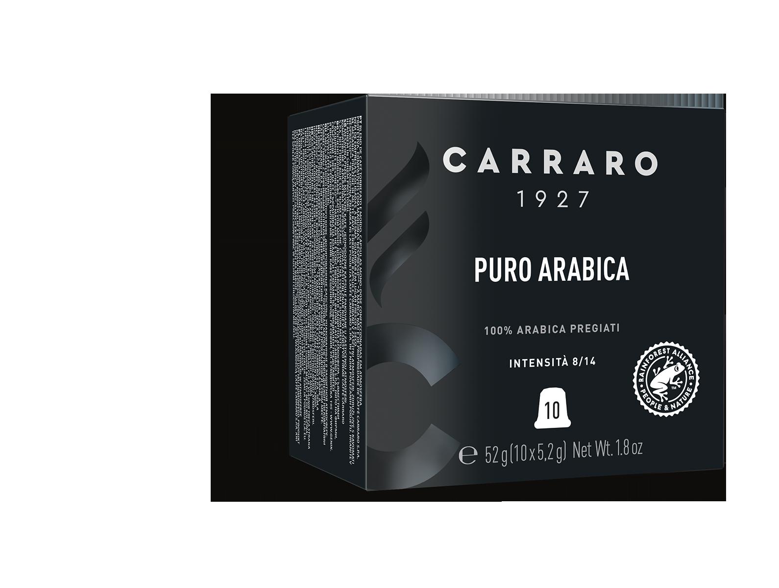 Puro Arabica – 10 capsule premium in astuccio cubo
