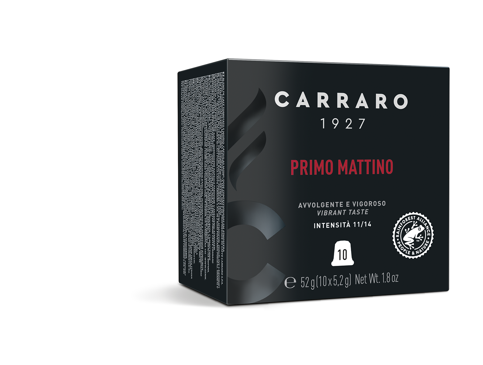 Primo Mattino – 10 capsule premium in astuccio cubo