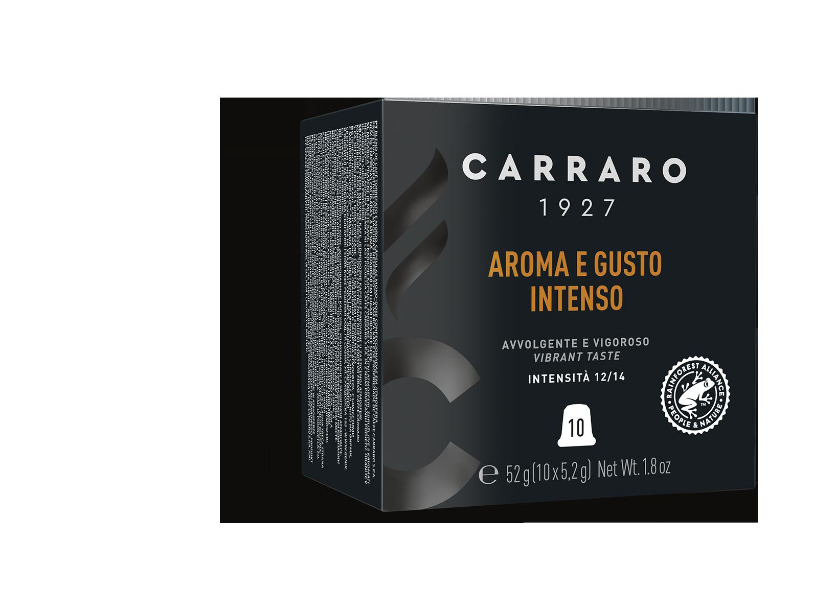 Aroma e Gusto Intenso – 10 capsule premium in astuccio cubo