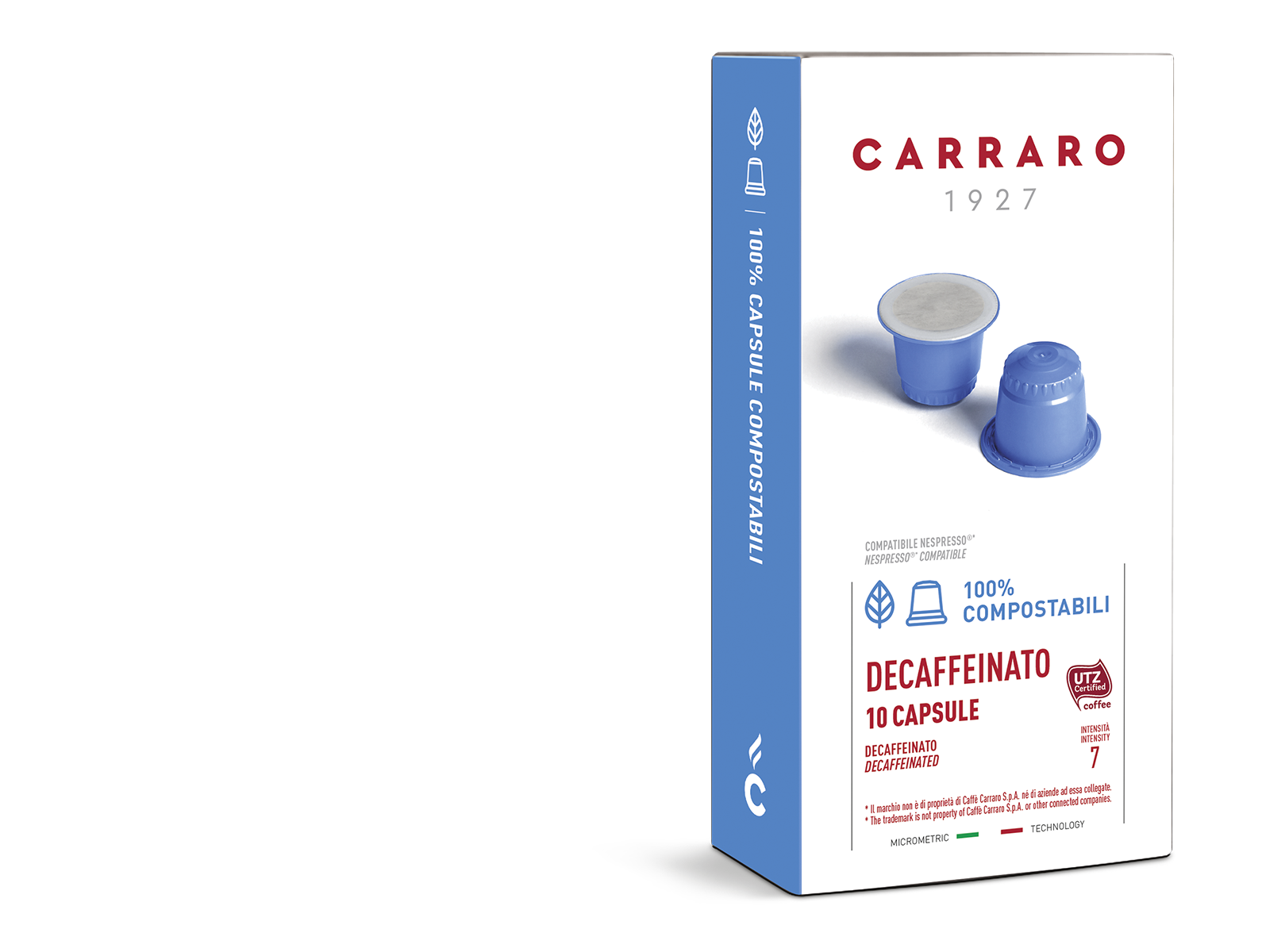 Decaffeinato – 10 compostable capsules