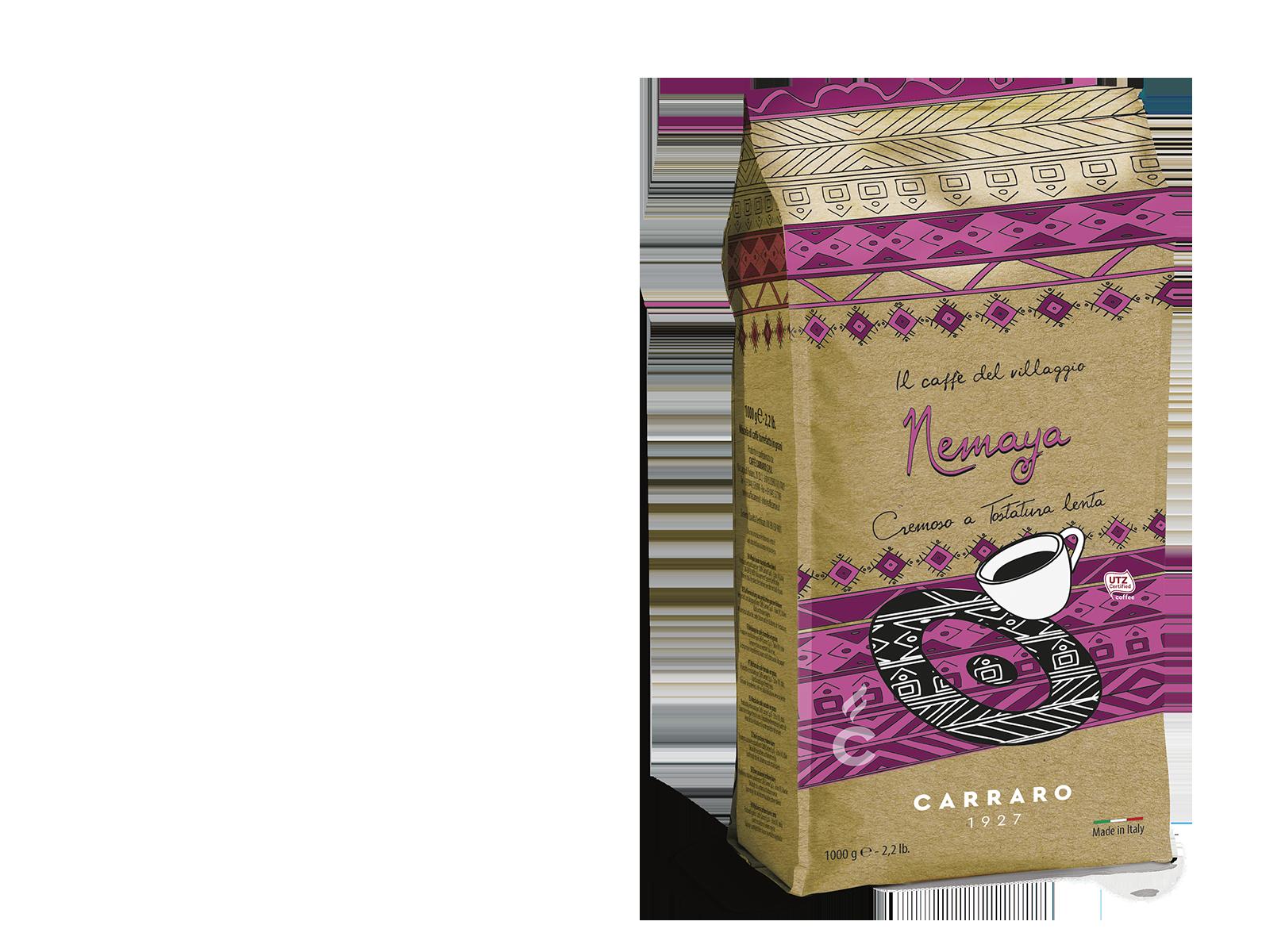 Nemaya – caffè in grani 1000 g Light