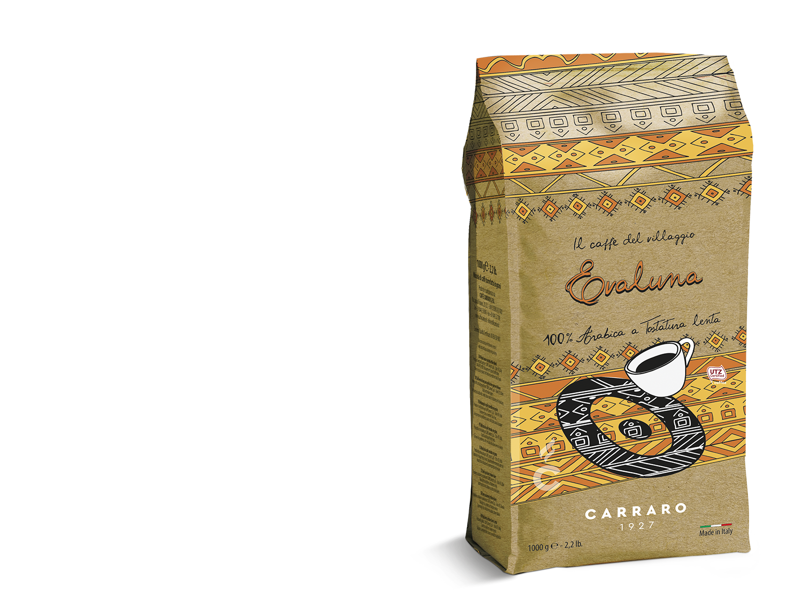 Evaluna – coffee beans 1000 g Light