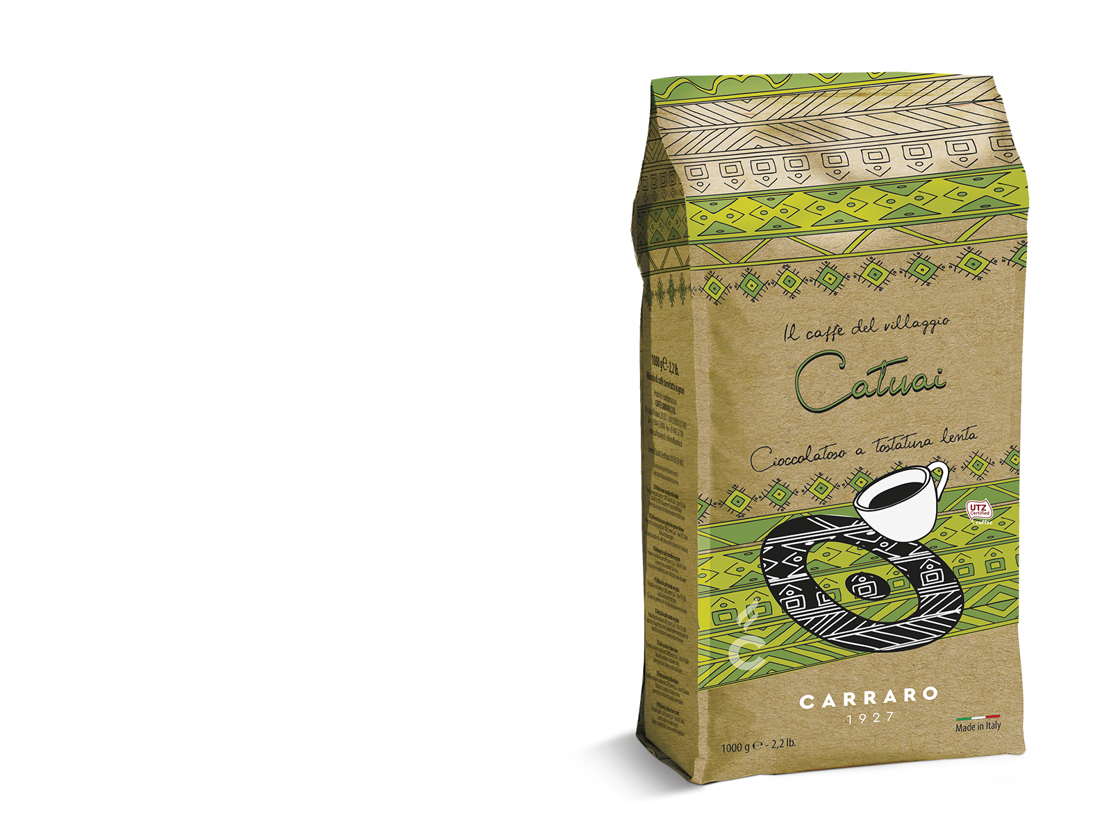 Catuai – caffè in grani 1000 g Light