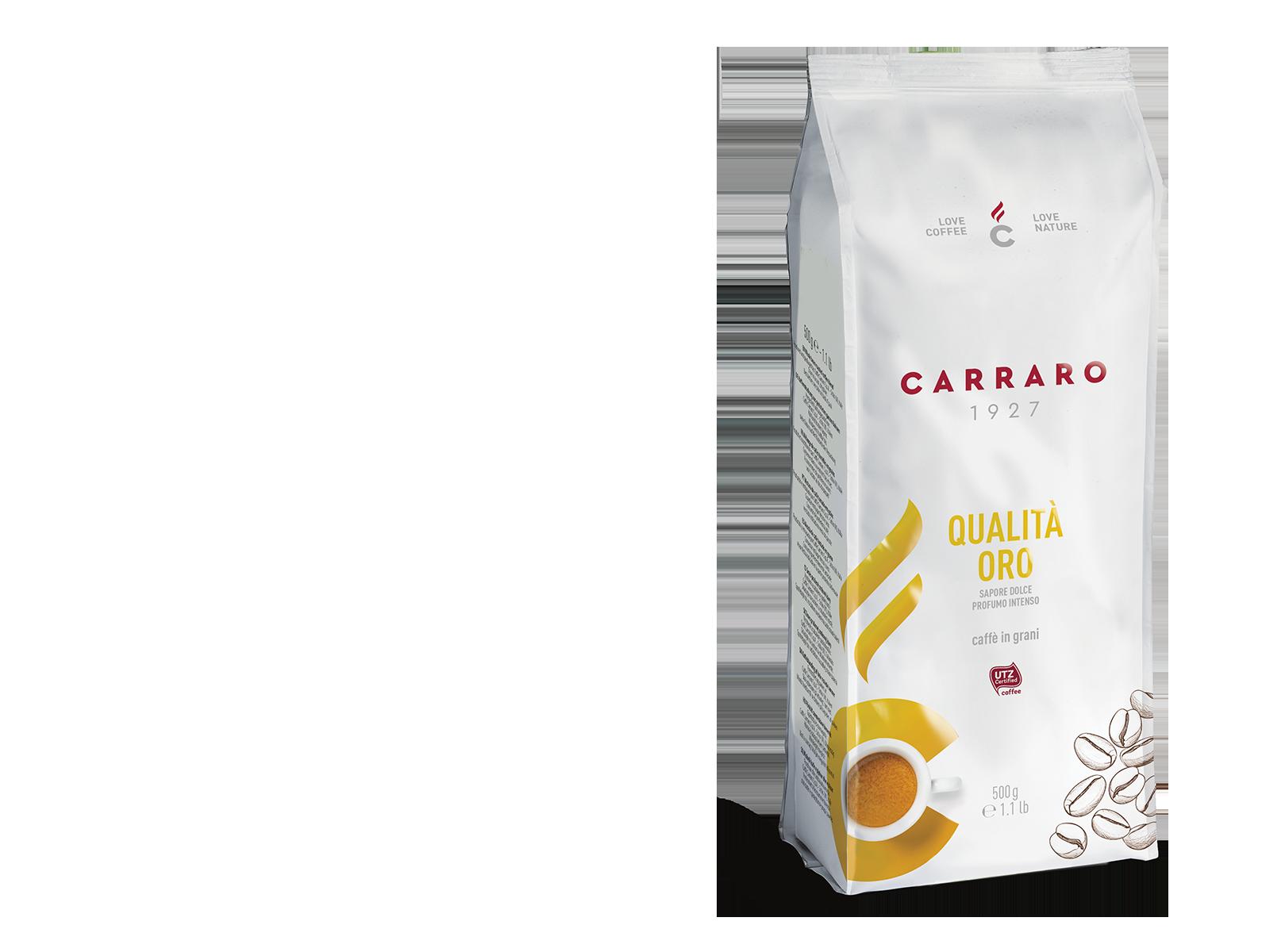 Qualità Oro – caffè in grani 500 g
