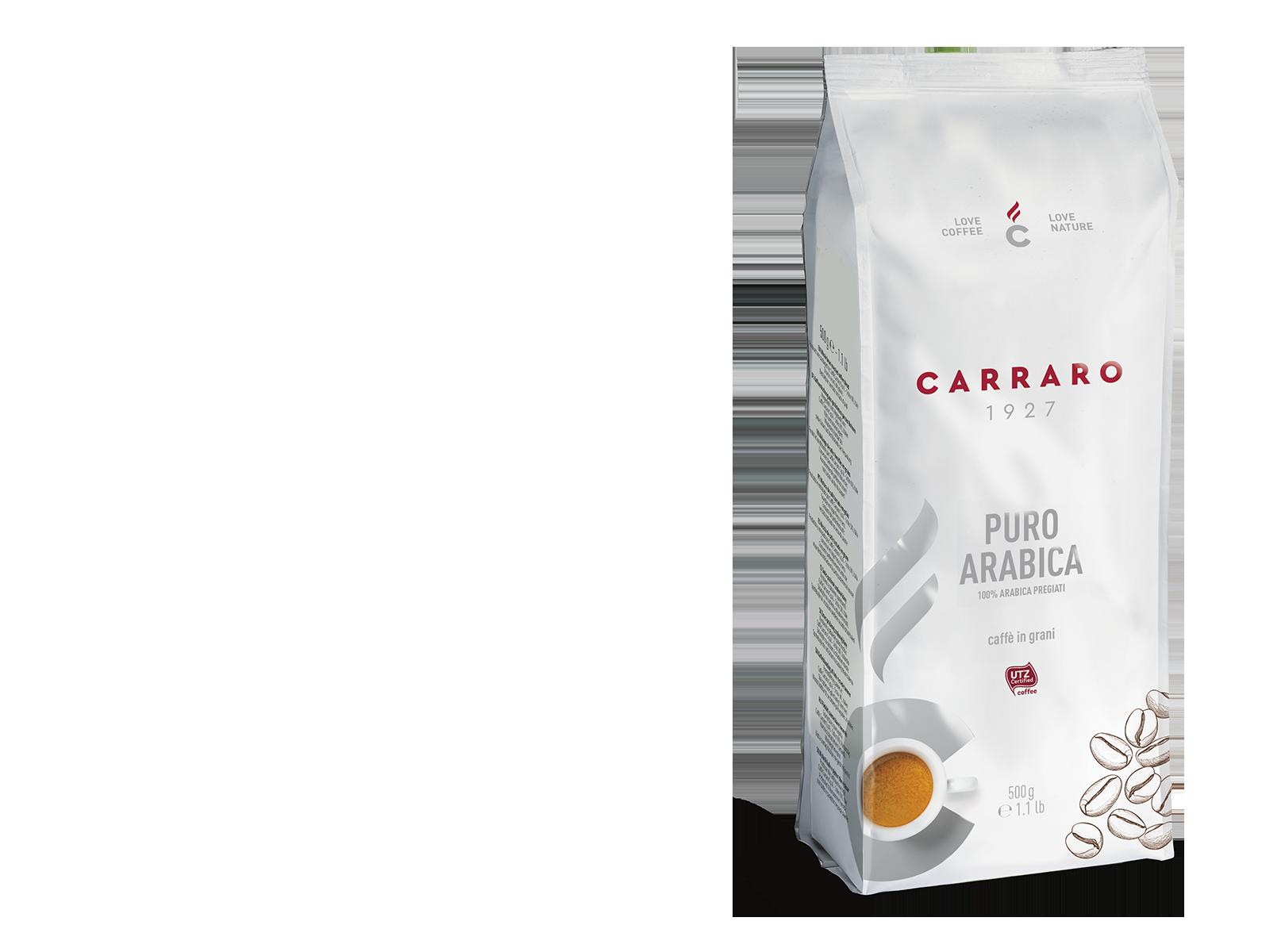 Puro Arabica – caffè in grani 500 g