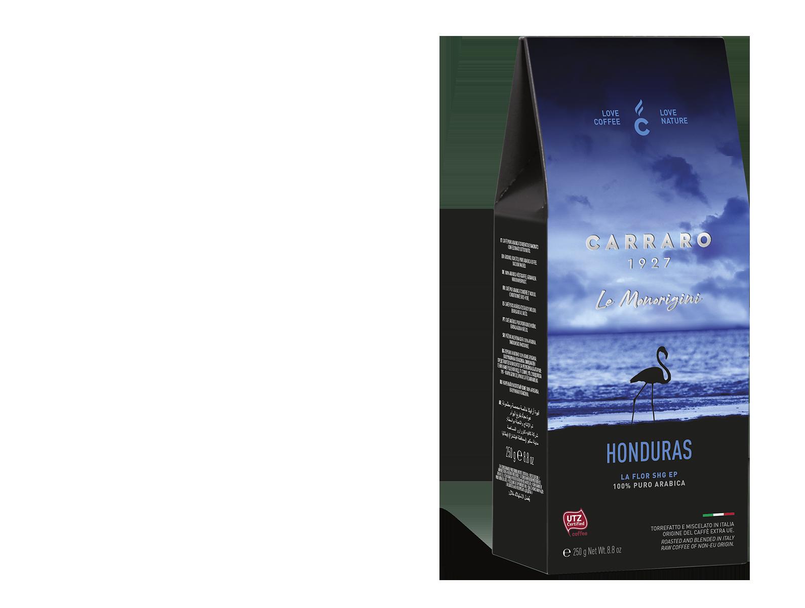 Honduras – caffè macinato in  astuccio  da 250 g