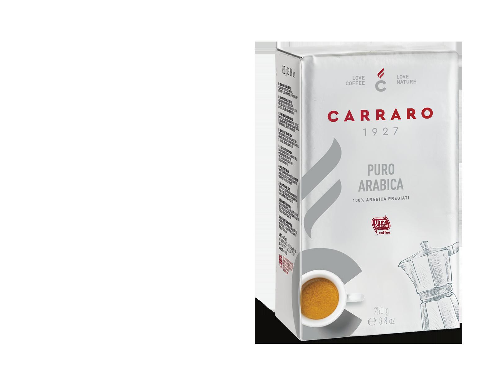 Puro Arabica – caffè macinato 250 g