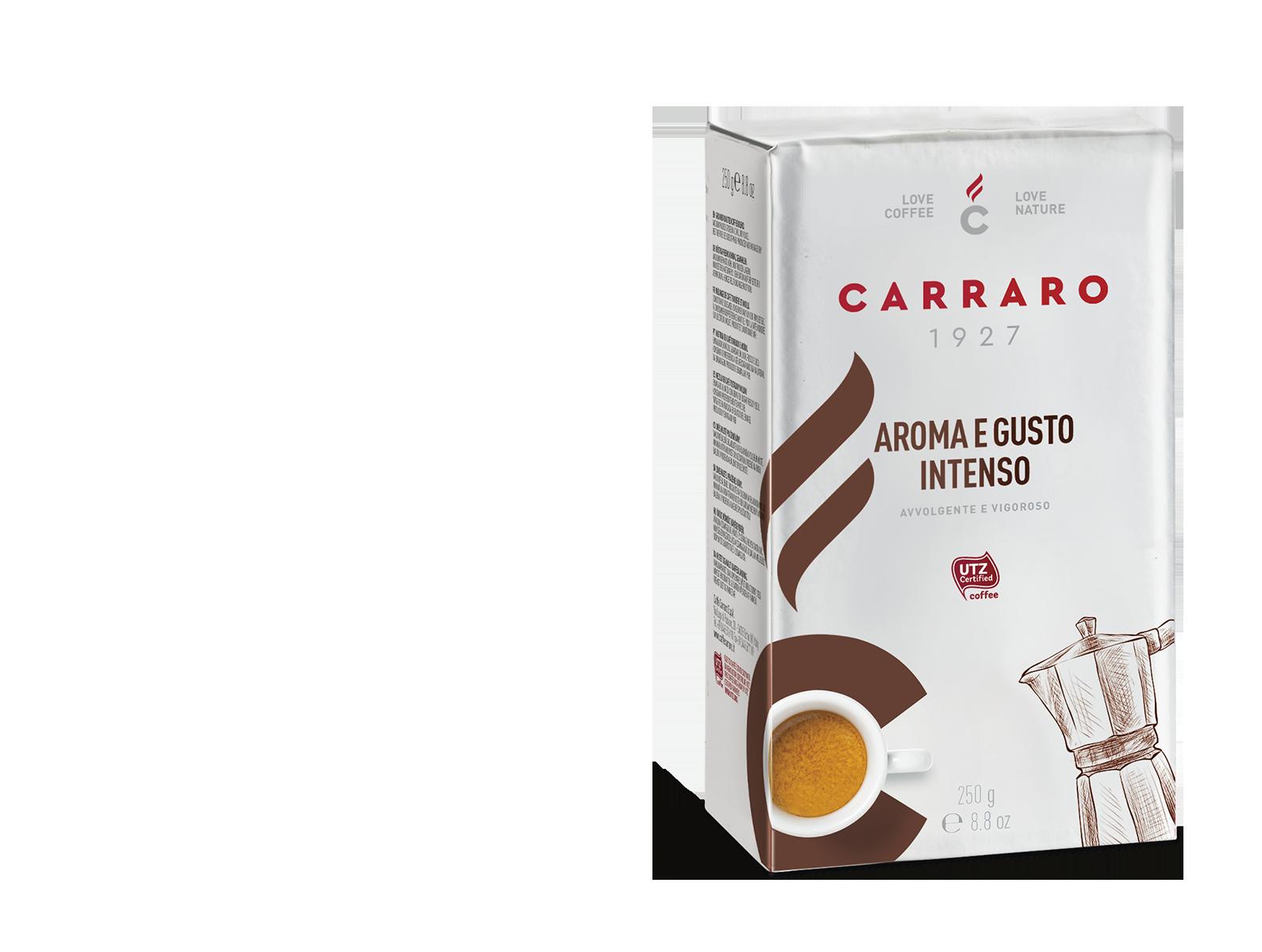 Aroma e Gusto Intenso – caffè macinato 250 g